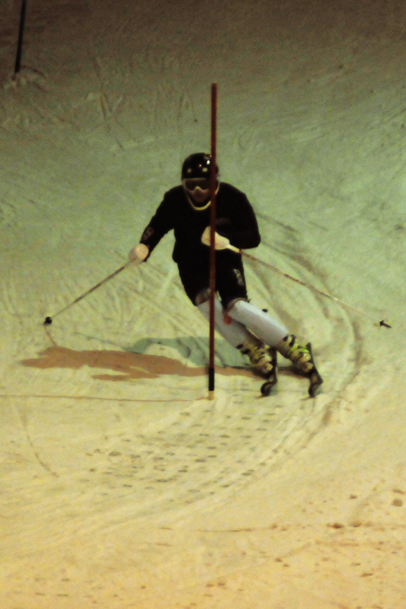När timing och förtroende sitter så gör även skidorna det. Här demonstrerat av Noah Rask, SK Boge.